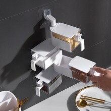 Оригинальная вращающаяся на вкус коробка Многоэтажный ящик типа ремонт уплотнение приправа коробка подвесного типа приносить ручки на вкус