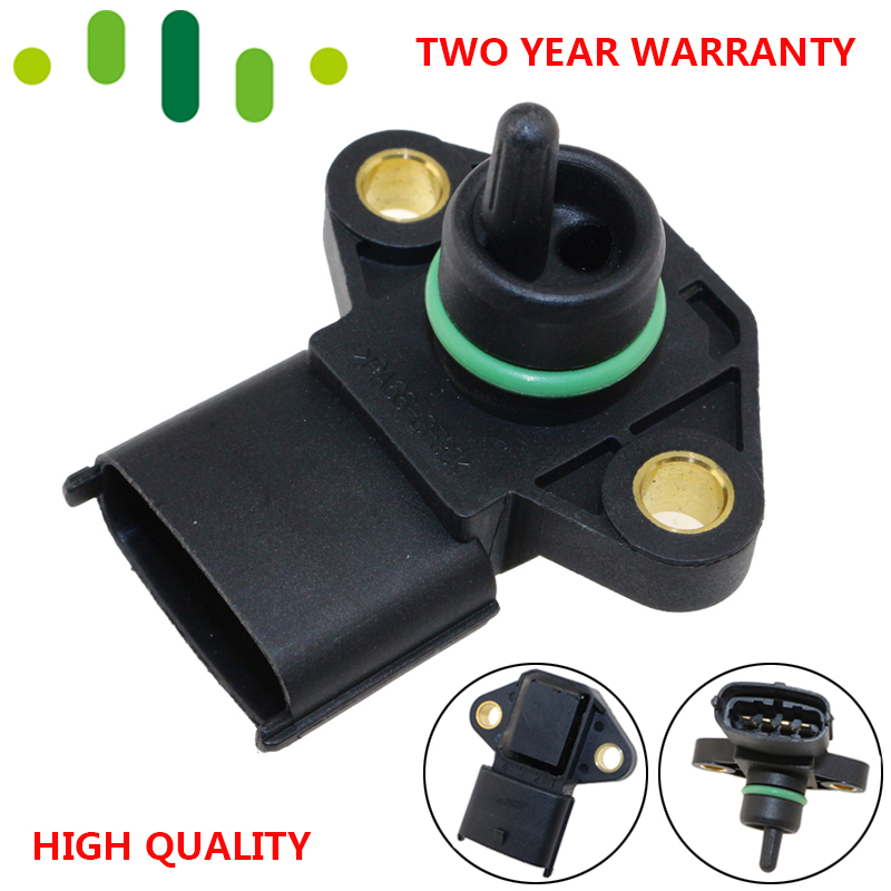 100% Test MAP-sensor Luftinntak Boost Pressure Manifold Absolutt Druck sender for Hyundai Genesis Coupe Santa Fe 2.0L 3.8L