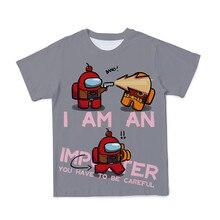 2021Trend Most Popular Games Among Us Summer Men/Women/Children 3D Streetwear Breathable Polyester T-Shirt O-Neck