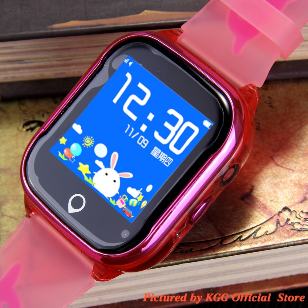 H934f8542f24a4dc4839b5a09d55589f4j - K21 Smart GPS Watch Kids New IP67 Waterproof SOS Phone Kids Smart Watch Children Clock Fit SIM Card IOS Android Wristwatch