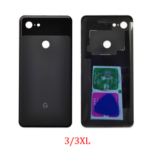 غطاء زجاجي خلفي لجهاز Google Pixel 3 XL 3XL ، هيكل هاتف أصلي ، غلاف زجاجي ، جزء بكسل 2 XL وأدوات