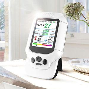 Portable Ozone Meter O3 0-5ppm Range Quick Sensing Tester Multi- Gas Monitor Air Quality Detector TVOC PM2.5 Gas Analyze