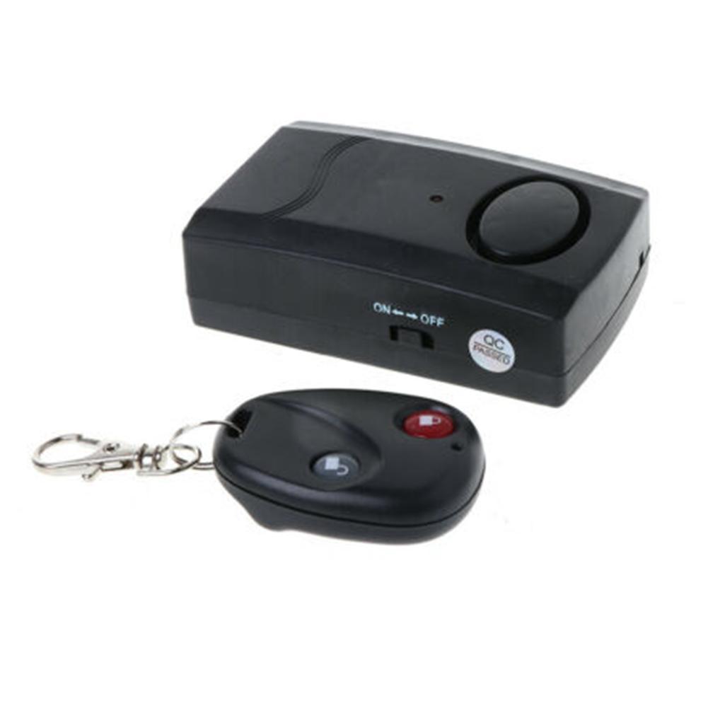 Wireless Remote Control Door Vibration Sensor Alarm Home House Security Door Window Car Sensor Detector Car Anti-thief Device
