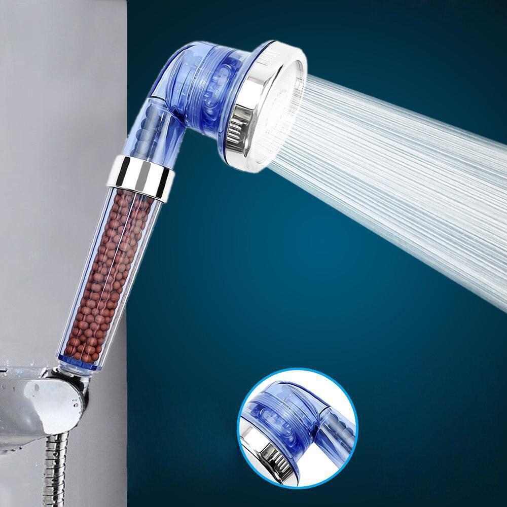Ayarlanabilir el yağış duş başlığı büyük yüksek basınçlı Spa duş başlığı yuvarlak banyo yağış su tasarrufu duş başlığı # 4Z 1