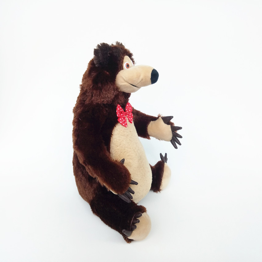 22-30 Cm Masha And Bear Plush Toys Russian Anime PP Cotton Stuffed Animals Doll Birthday Christmas Children's Day Kids Gift