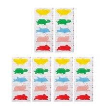 30 unidades/pacote bandagens adesivas impermeáveis da faixa dos primeiros socorros dos desenhos animados para o bebê