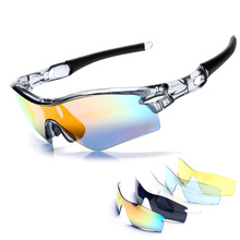 5 Lens Polarized Cycling Sun Glasses Outdoor Sports Bicycle Glasses Bike