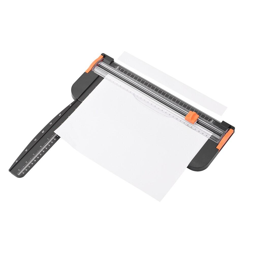 Coupeur tapis de coupe Machine fournitures de bureau Photo étiquette Art peinture tondeuse ferraille outils de réservation règle Machine pour A4 A5 papier