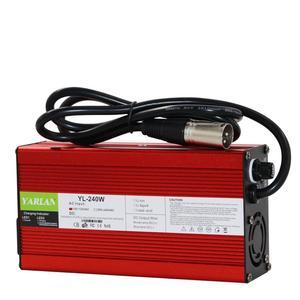 60V 2A зарядное устройство 20AH свинцово-Кислотное зарядное устройство адаптер умная зарядка 2A для электрического велосипеда скутеры