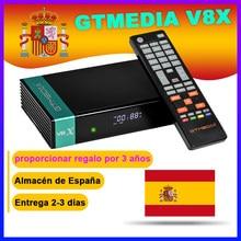 フルhd gtmedia V8X DVB-S2 fta衛星放送受信機gtメディアV8ノヴァサポートH.265内蔵無線lanデコーダなしアプリ付属