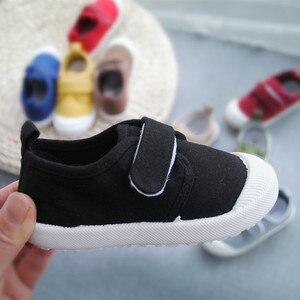 Image 4 - ฤดูใบไม้ผลิฤดูใบไม้ร่วง 2020 เด็กใหม่น้ำล้างผ้าใบรองเท้าเด็กชายและเด็กหญิงโรงเรียนรองเท้าSuperนุ่มสบายรองเท้าผ้าใบ