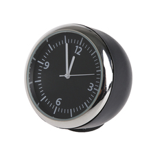 Excellent Quality New Car Mini Quartz Watch Pointer Digital Clock for Decoration Auto Supplies