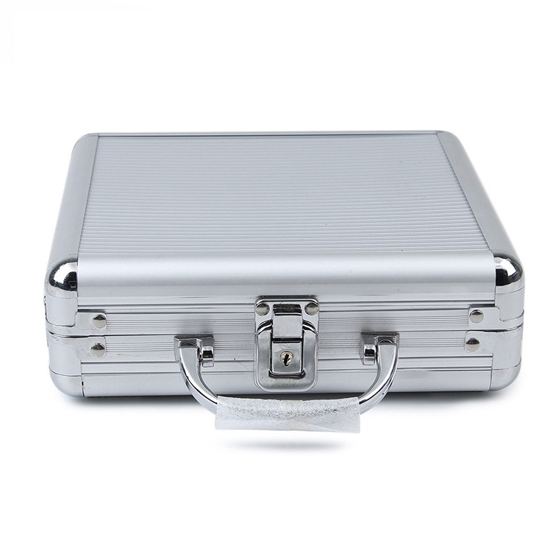 JULY'S DOSAC Big Capacity Poker Chips Case Portable Aluminum Alloy Suitcase Aluminum Playing Card Box