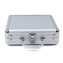 JULY'S DOSAC Big Capacity Poker Chips Case Portable Aluminum alloy Suitcase Aluminum Playing Card Box(China)