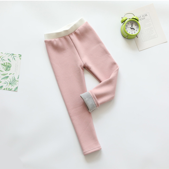 VIDMID Cotton Baby Girls Leggings pants Cute Animals Knitting Warm Thick fleece Leggings Girls Leggings trousers clothes 4114 02