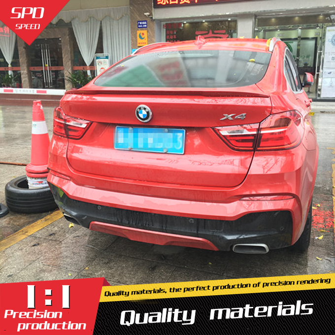 For <font><b>BMW</b></font> <font><b>F26</b></font> X4 <font><b>Spoiler</b></font> High Quality ABS Material P Performance Style <font><b>Spoiler</b></font> For <font><b>BMW</b></font> <font><b>F26</b></font> X4 <font><b>Spoiler</b></font> 2011-2014 image