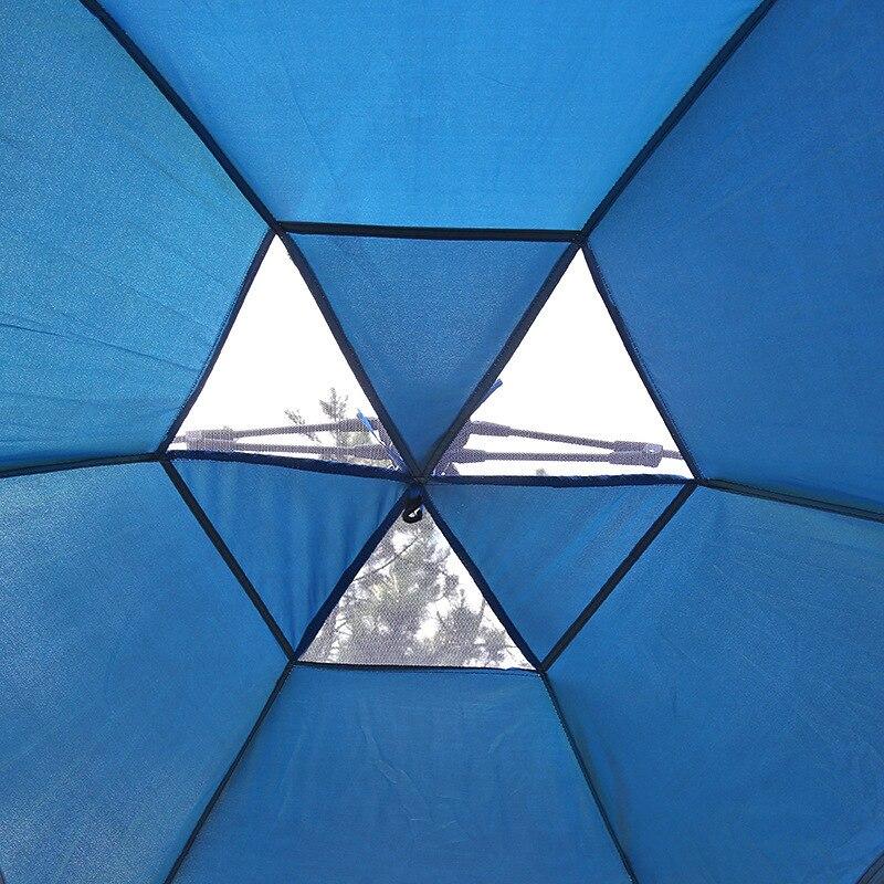 Outdoor Fishing Automatic Tent Camping Garden Picnic Set Hunting Roof Tent Tabernacle Beach Windbreak Fiberglass Pole (8)