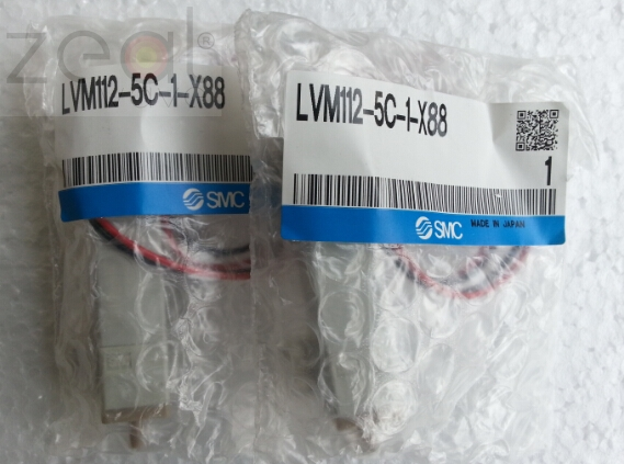 1PCS SMC LVM112-5A-1-X88 LVM112-5C-1-X88 24V New Three-way Solenoid Valve For Dirui H-800 Fus-100