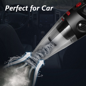 Image 2 - 4500Pa אלחוטי רכב שואב אבק ציקלון חזקה יניקה כף יד אוטומטי שואב אבק נטענת לרכב חיות מחמד בית שיער