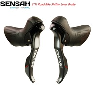 SENSAH Road Bike 22 Speed Shifter Double 2*11 Brake Lever Bicycle Derailleur Bike Shift Cable Gear Lever Brake for Shimano Sram