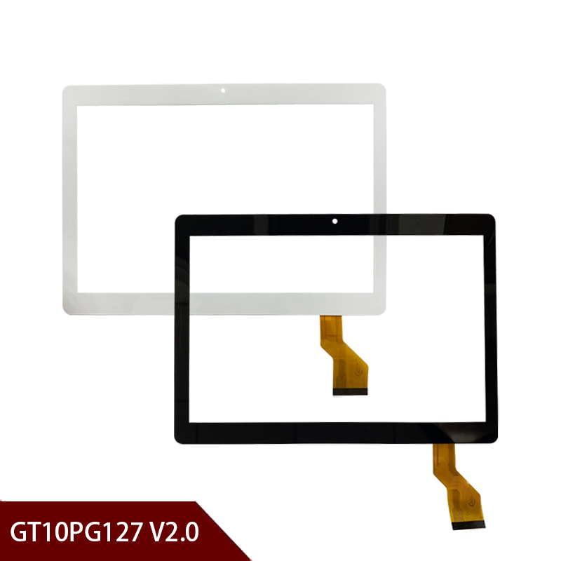 100% New A+ White Or Black 10.1'' Inch Tablet Digitizer Glass GT10PG127 V2.0  Tablet Touch Screen Panel Free Shipping
