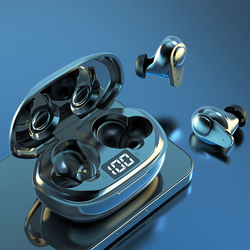 Игровые гарнитуры Bluetooth 5,1 беспроводные наушники светодиодный дисплей спортивные водонепроницаемые наушники с шумоподавлением наушники г...