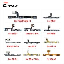 볼륨 측면 전원 스위치 해제 버튼 키 XiaoMi Mi 9T Pro 9 8 A3 A1 a2 라이트 Redmi 6 S2 PocoPhone F1