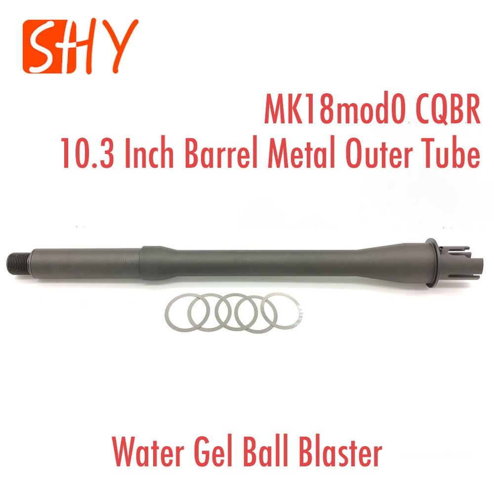 JingMing J9 Gen9 Kublai K1 K2Water Gel Ball Blaster AEG Airsoft MK18mod0 CQBR Toy 10.3 Inch Barrel Metal Outer Tube