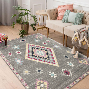 Image 2 -  Hot Sale Modern 3d Japanese style Wood Floor Rug For Living Room Non slip Antifouling Carpet For Bedroom Parlor Factory