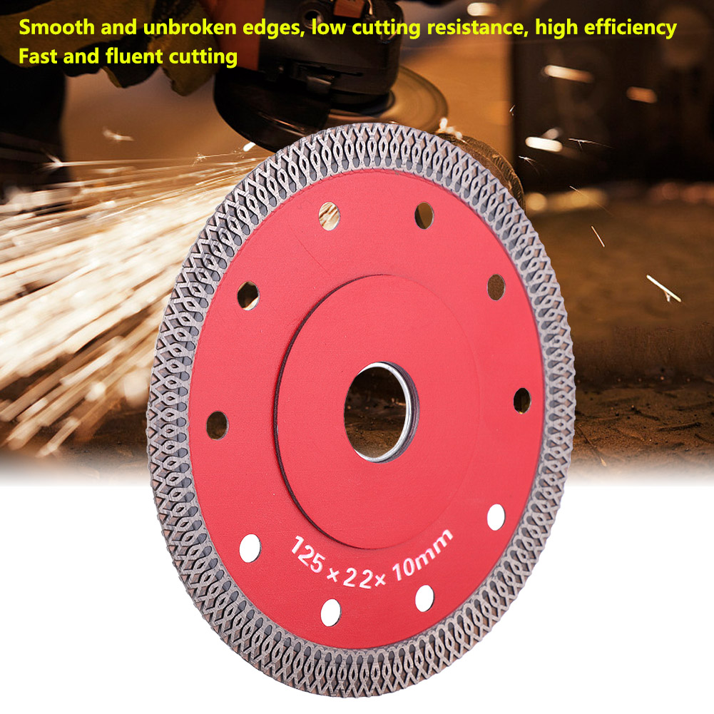Wave Style Diamond Cutting Disc Saw Blade Wheel For Ceramic Microlite Tile Ceramic Dry Cutting Aggressive Disc Marble Granite