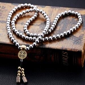Image 2 - Lohnende Taktische Buddha Perlen Armband EDC Outdoor Werkzeuge Selbstverteidigung Schutz Überleben Halskette Kette Peitsche Dropshipping