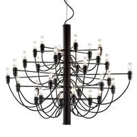 Italian designer 2097 Modern home decorationa lamps 18/30/50 Gold Black Silver Gino sarfaitti Chandelier dining Hang Lights