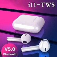 i11 TWS Bluetooth Earphones Earbuds Wireless Headset Sports Microphone Earpieces
