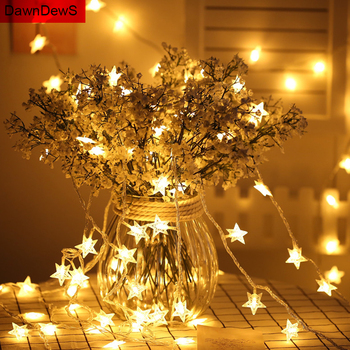 3M Fairy LED String Lights Battery Operated Mr Mrs Wedding Garland Birthday Decoration Xmas Gift Merry Christmas Tree Ornaments image