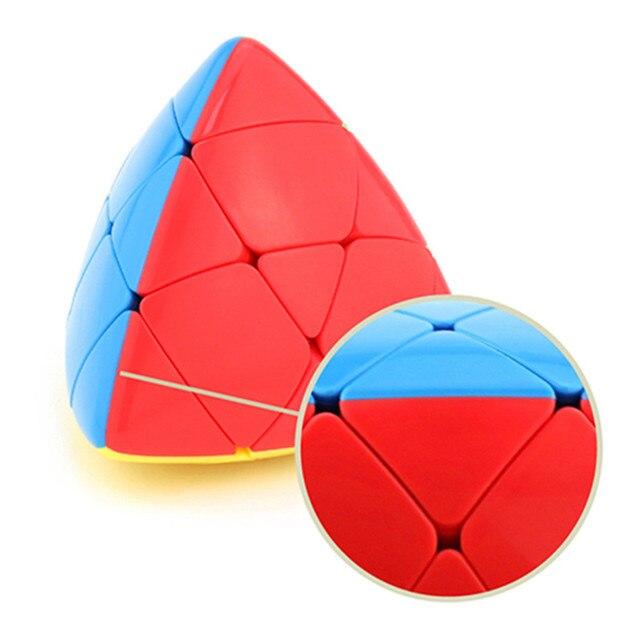 MoYu Mastermorphix Cube 3x3 Puzzle Magic Cube 3x3 Rice Dumpling Cube Triangle Magic Cube Educational Toys For Boys Cubes 3