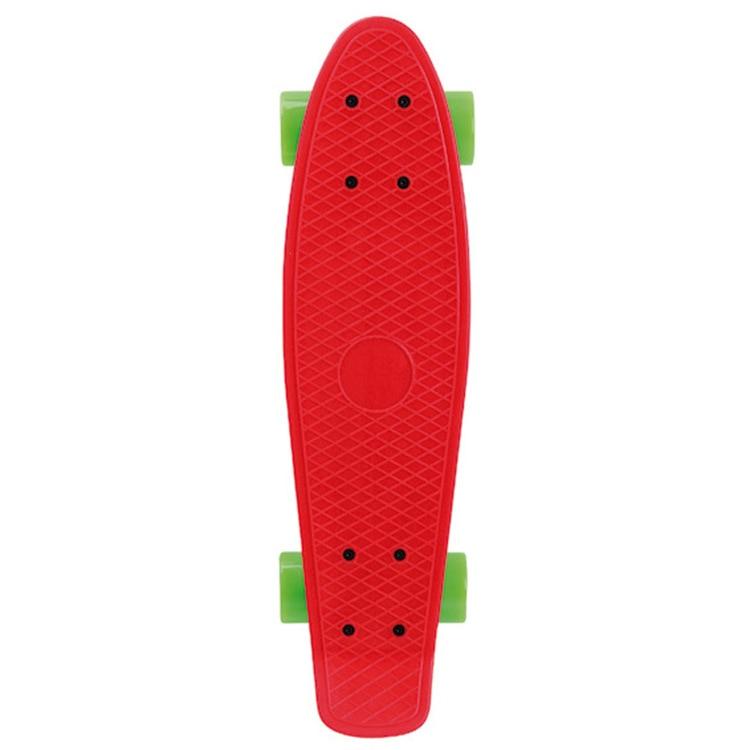 Kunststoff Fisch Skateboard Vier Rad Kunststoff Große Fisch Skateboard Erwachsene Beruf Skateboard PP27 Inch Fisch Boards Hersteller D - 3