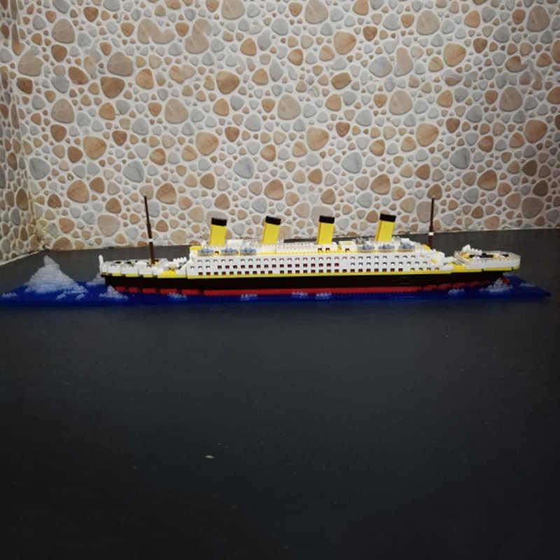 Jouets Pour Enfants 1860 Blocs Bateau Titanic Mini Croisiere Blocs De Construction Diamantes A Assembler Bricolage Meme Aliexpress