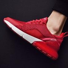 Кроссовки мужские спортивные, дышащие, Повседневная Брендовая обувь для пар, спортивные, 270