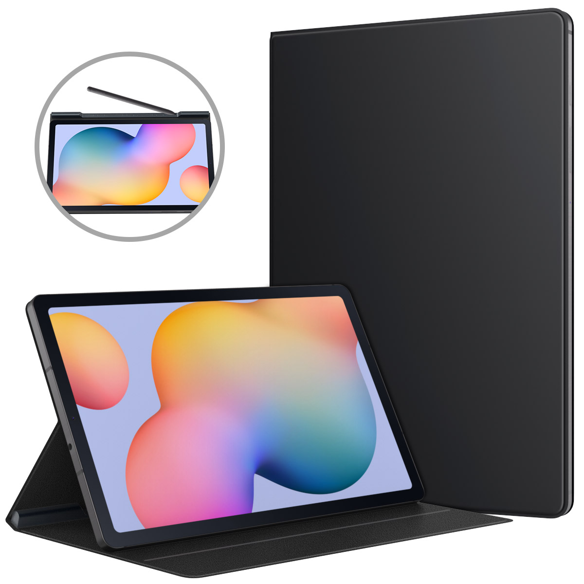 Tablet Case Shell-Cover Magnetic-Absorption-Case Galaxy Tab S6 Lite Smart Folio Ultra-Slim