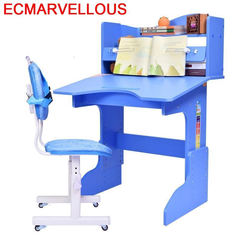 Estudio Tavolino Cocuk Masasi Child Escritorio Infantil Scrivania Bambini Adjustable Bureau Enfant For Kinder Kids Study Table