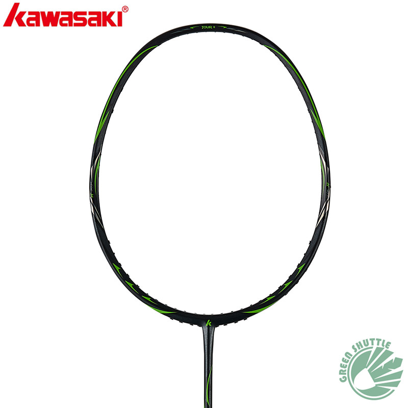 Genuine 2020 New Kawasaki Special Carbon Fiber Ninja 66 Tour+ Passion P5 Magic 2 IN 1 Frame Honor S6 Badminton Racket With Gift