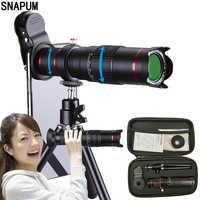 SNAPUM teléfono móvil HD 4K 22x Cámara Zoom telescopio óptico teleobjetivo para Samsung iphone huawei xiaomi