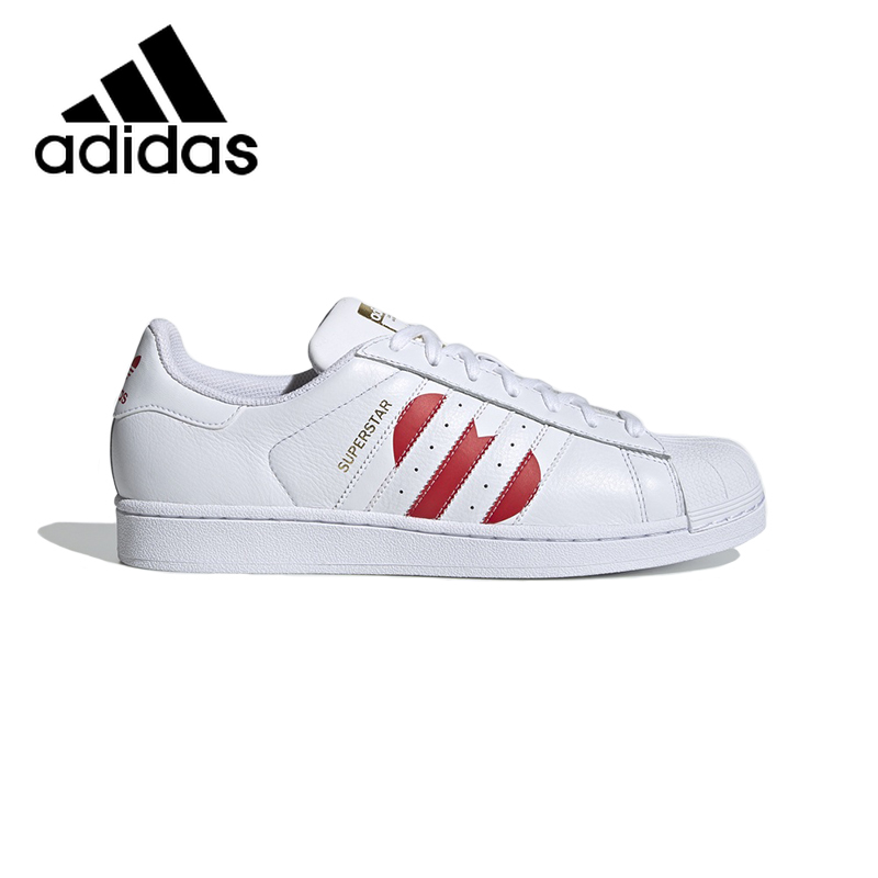Original Authentic Adidas Superstar Unisex Skateboard Shoes Classic Outdoor Casual Shoes Wear-resistant 2019 New Listing EG3396
