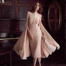 ADYCE 2020 Sexy Women Bodycon Summer Runway Dress Pink O Neck Batwing Sleeve Midi Luxury Celebrity Party Club Dresses Vestidos