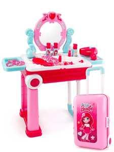 Toys Lipstick Nail-Polish Make-Up-Toy Change-Suitcase Pretend-Play Princess-Game Pink