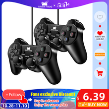 DATA FROG Wired USB Game Controller For PC Computer Laptop Joystick Gamepad With Vibration For WinXP/Win7 8 10 Gamepads
