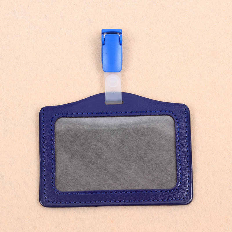 Warna Gaya Sederhana Melintang Pemegang Lencana Plastik Klip Bekerja Cover Badge Reel Kreatif Perawat Pameran Enfermera ID Kartu Nama