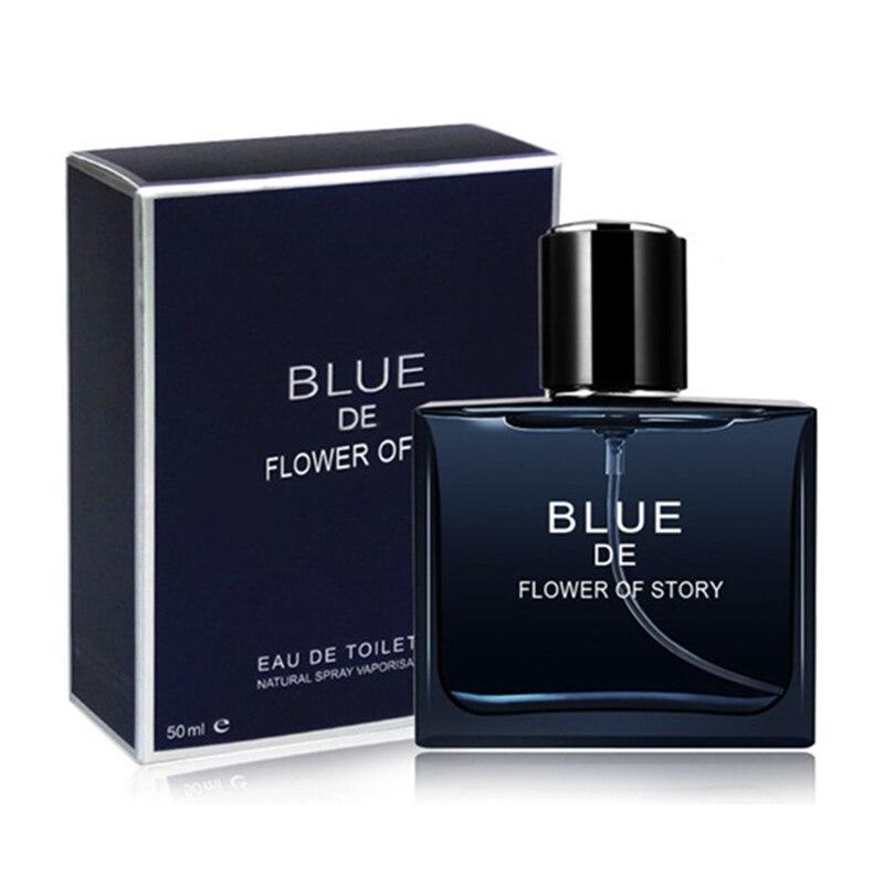 50ml Men Parfum Spray Fragrance Perfume Masculino Deodorant Spray Bottle Male Eau De Toilette Long Lasting Box Packaging