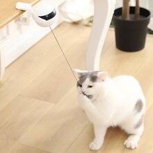 Интерактивная кошка игрушка электронный движения Дразнилка для
