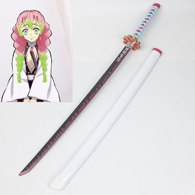 Mitsuri Kanroji Cosplay Sword Anime Demon Slayer Kimetsu no Yaiba Costume Prop